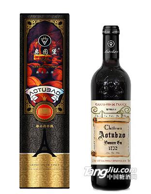 奥图堡・银骑士干红葡萄酒