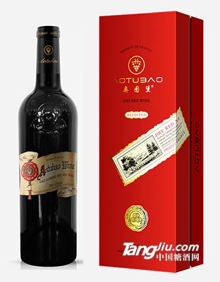 奥图堡・金至尊干红葡萄酒