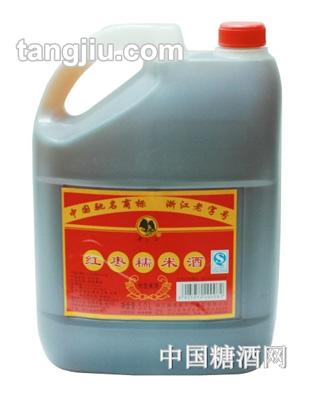 莫干山红枣糯米酒5L