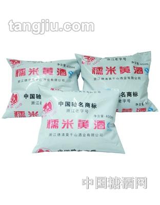 莫干山糯米黄酒(袋)400ml