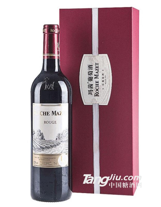 卡思黛乐玛茜红葡萄酒
