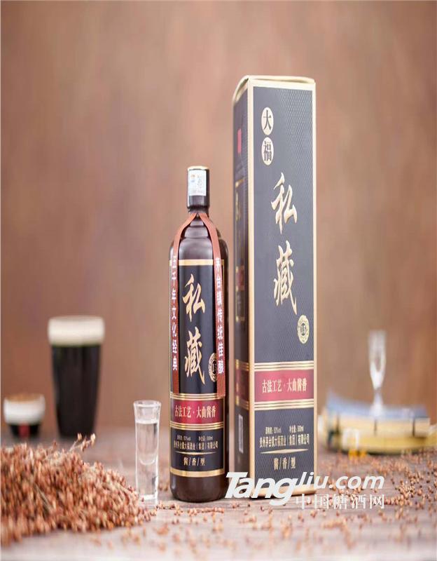 大福私藏 茅台镇匠大福ope体育电子竞技游戏平台出品53voI优级酱香型白酒 500ML*6瓶