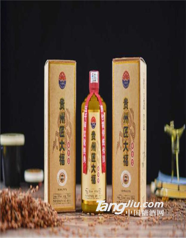 贵州匠大福 茅台镇53%voI优级酱香白酒 500ML*6瓶