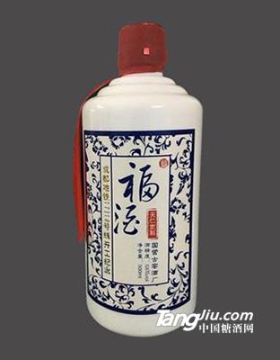 古窖定制酒 陶瓷瓶