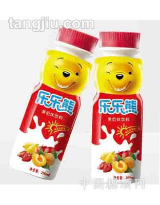 乐乐熊乳饮料200ml