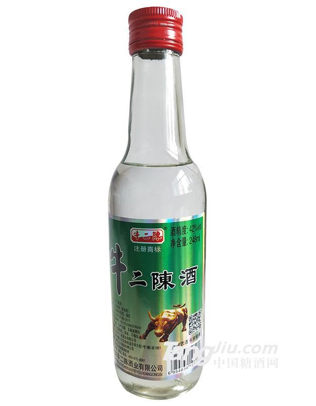 牛二陈酒248ml