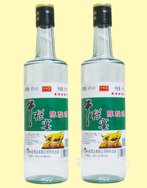 牛栏宴-陈酿酒-42°500mlx12(5)