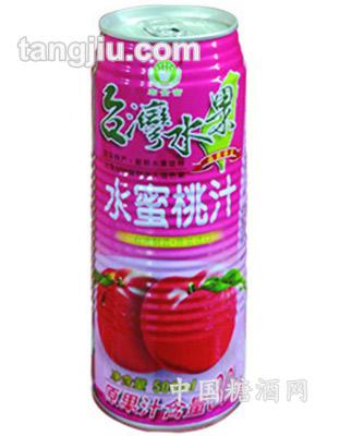 宏金富500ml水蜜桃汁
