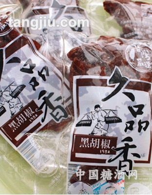 久品香豆干(黑胡椒)