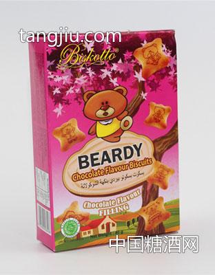 比斯克托小熊巧克力饼