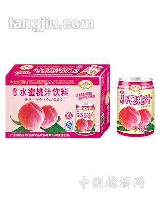 华雄冰糖水蜜桃汁饮料250ml