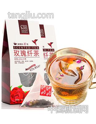 泡悠茶品玫瑰纤茶-三好茶博汇