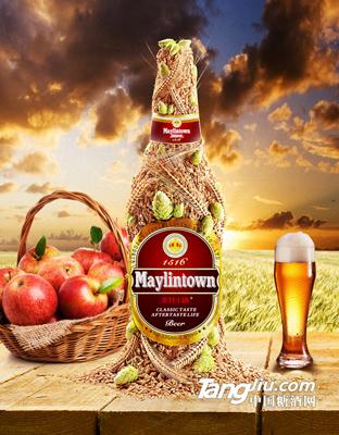 棕瓶美林小镇啤酒