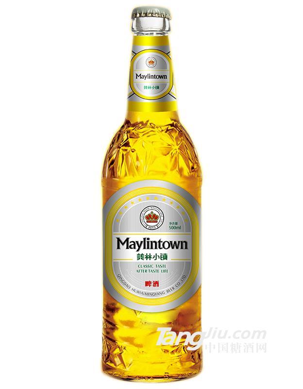 白瓶美林小镇啤酒