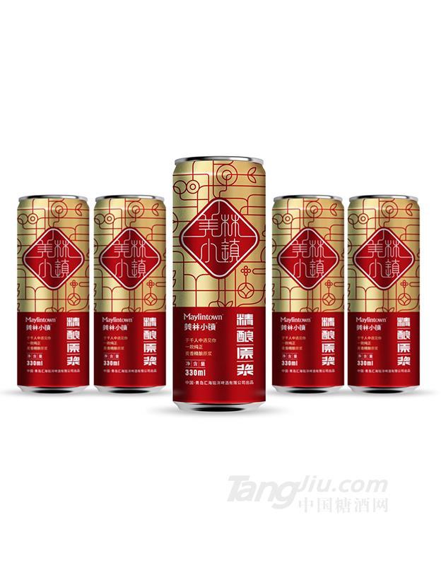 美林小镇8度精酿原浆白啤330ml