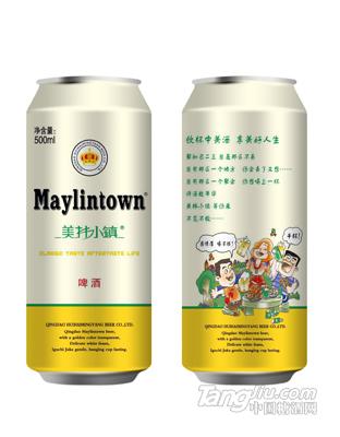 美林小镇500ML金罐啤酒