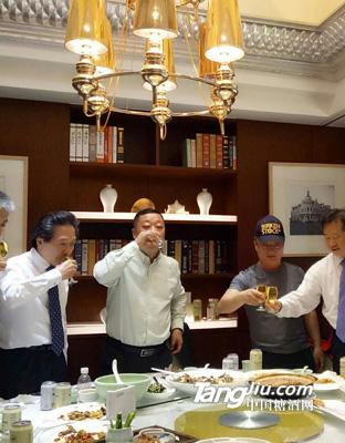 韩国考察团(7)-美林小镇啤酒