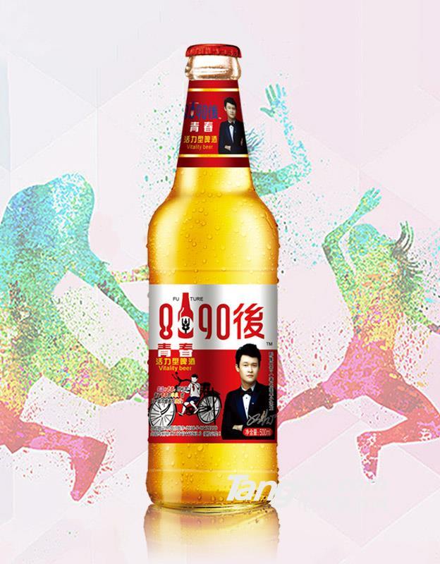 8090青春活力啤酒(红)-500ml