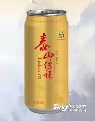 泰山传说啤酒495ml罐装