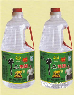 42°新鑫牛二陈酿(桶装)2Lx6
