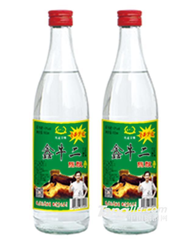 42度鑫牛二陈酿酒500ml