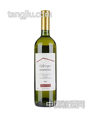 格鲁吉亚萨伯拉维干白葡萄酒1