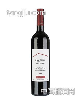 格鲁吉亚萨伯拉维五年窖藏干红葡萄酒1