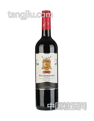 意大利黑曼罗干红葡萄酒