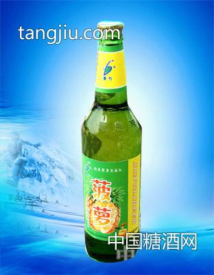 菠萝果啤-山东蓝发饮品
