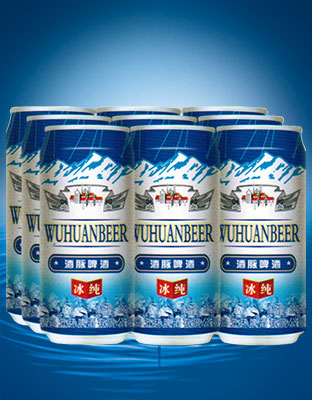 6冰纯8度啤酒