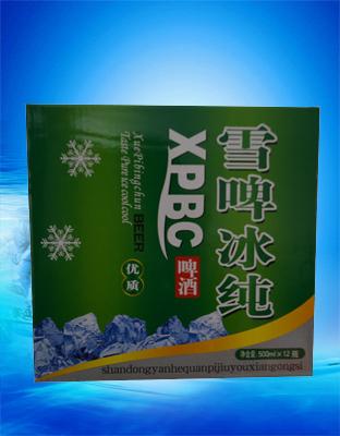雪啤冰纯500ml―晏河泉