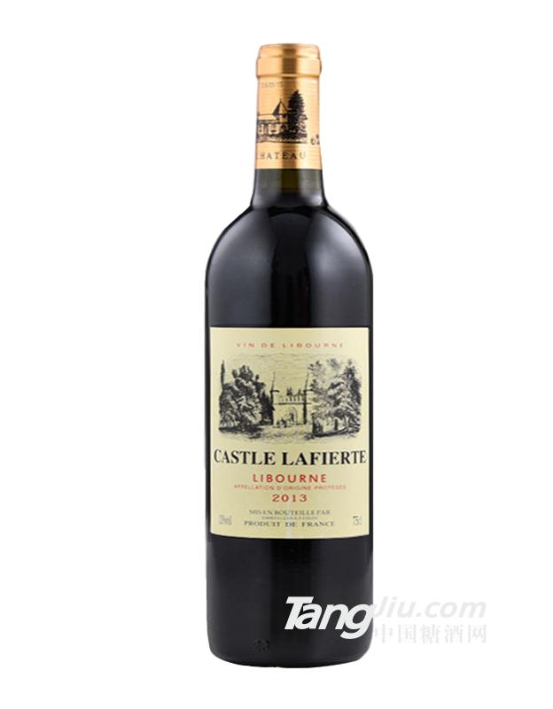 法国原瓶进口拉菲堡2013干红葡萄酒