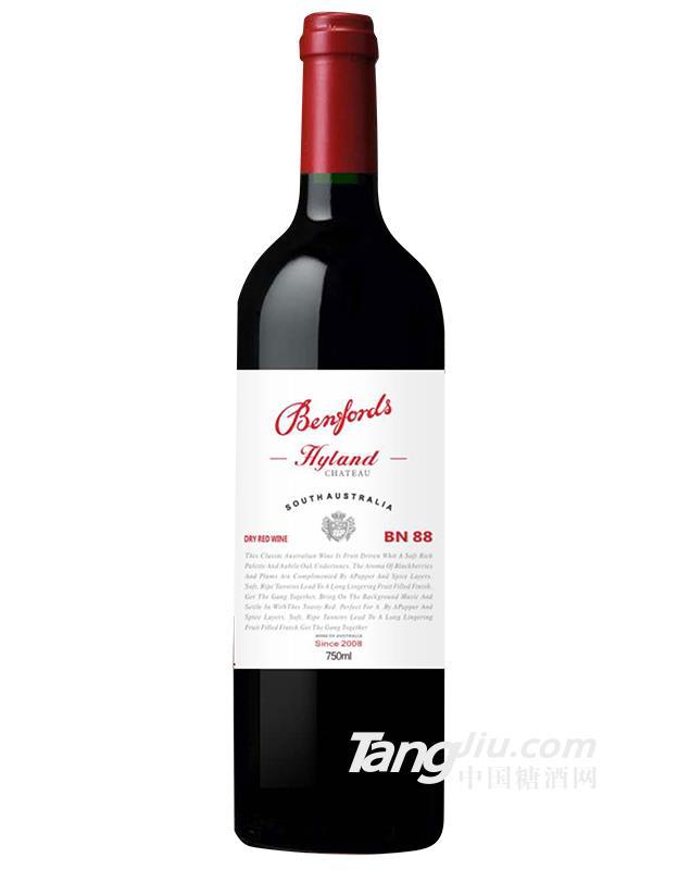 奔富海兰酒庄BN88干红葡萄酒