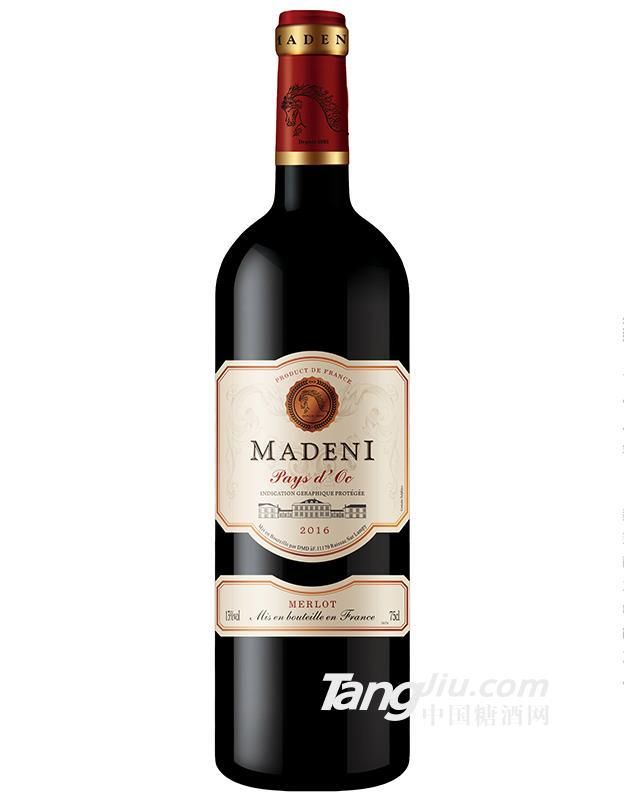 玛德尼美乐干红葡萄酒
