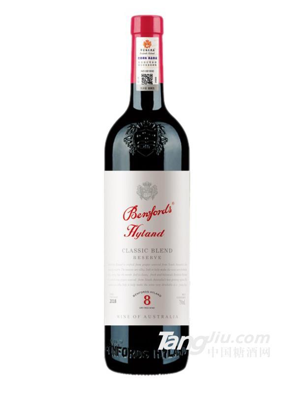 奔富海兰8珍藏干红葡萄酒