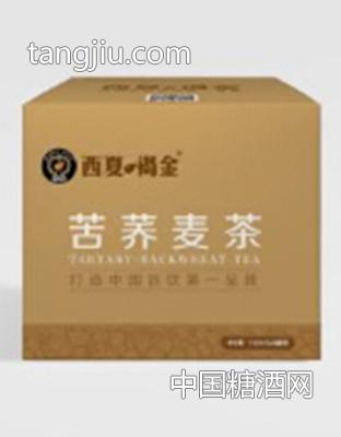 西夏褐金 苦荞麦茶乳酸菌塑包4灌装310ml