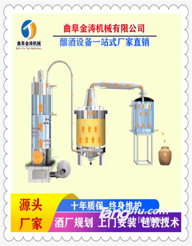 南昌全自动电加热酿酒设备 不锈钢酿酒机 小型造酒机一件代发