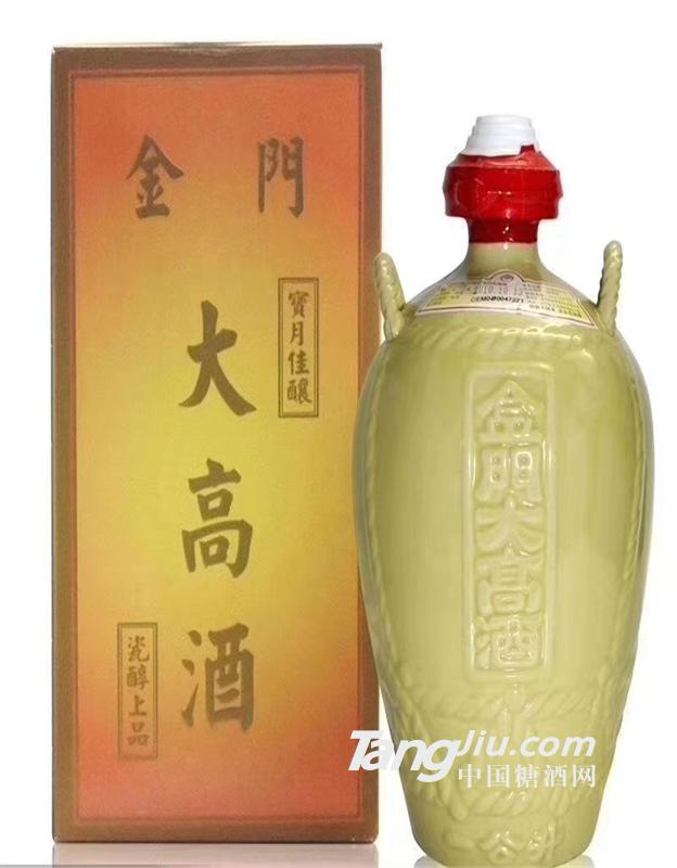 供应台湾金门高粱酒58度坛装1000ml金门大高酒纯粮食