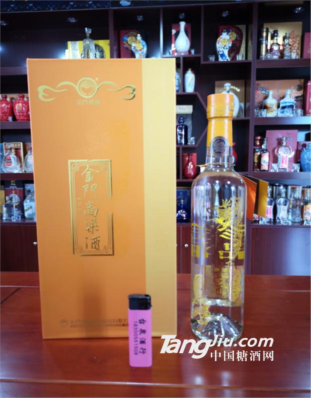台湾金门高粱酒53度 黄金龙 500mL