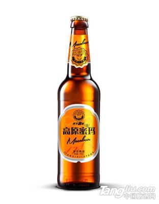 天下酒坊-高原蜜码原浆啤酒瓶装450ml