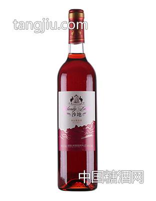 沙地系列-沙地桃红葡萄酒