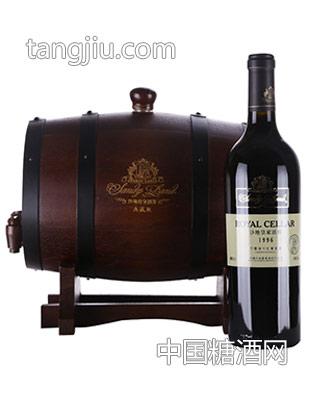 沙地皇家酒窖赤霞珠干红葡萄酒典藏版