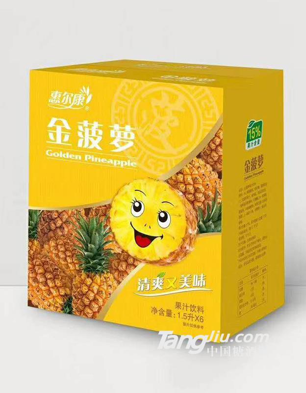 黄金果果汁饮料1.18L×6瓶