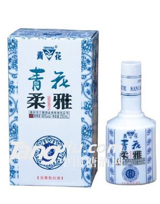 青花柔雅酒45°P