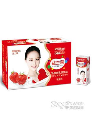 智元九个-益生菌草莓味250ml