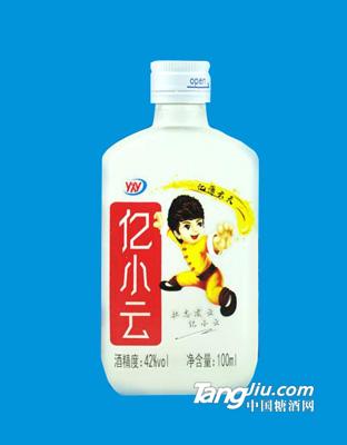 亿小云酒42度100ml白瓶