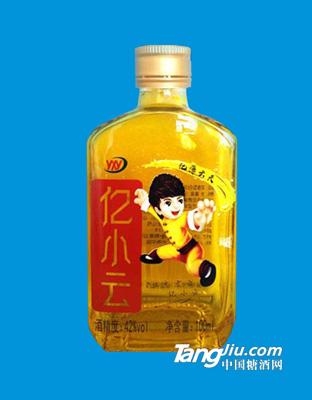 亿小云酒42度100ml黄瓶