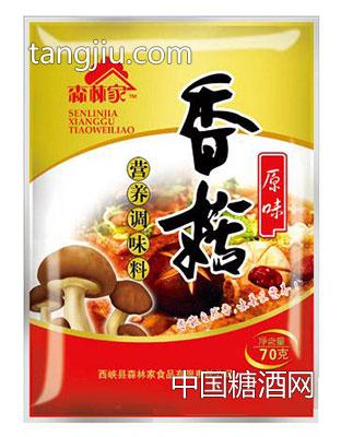 森林家香菇营养调味料原味70g