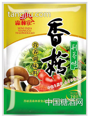 森林家香菇营养调味料荆芥味70g