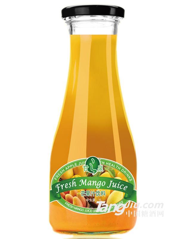 甘之泉芒果汁饮料1L